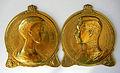 Médaillons Albert et Elisabeth de Belgique 1916 par Charles Samuel (1862-1938) (1).JPG