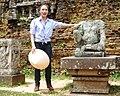 Mỹ Tâm at Mỹ Sơn Sanctuary 3.JPG