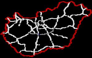 M8 motorway (Hungary) - Image: M8 Autópálya Hungary