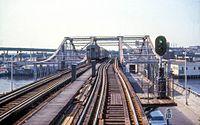 MBTA Main Line El on Charlestown Bridge in 1967.jpg