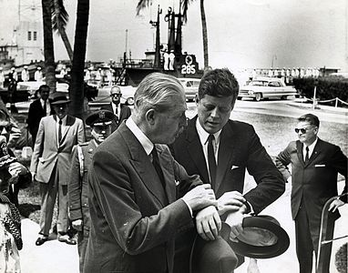 MacMillian and Kennedy in Key West March 1961.jpg
