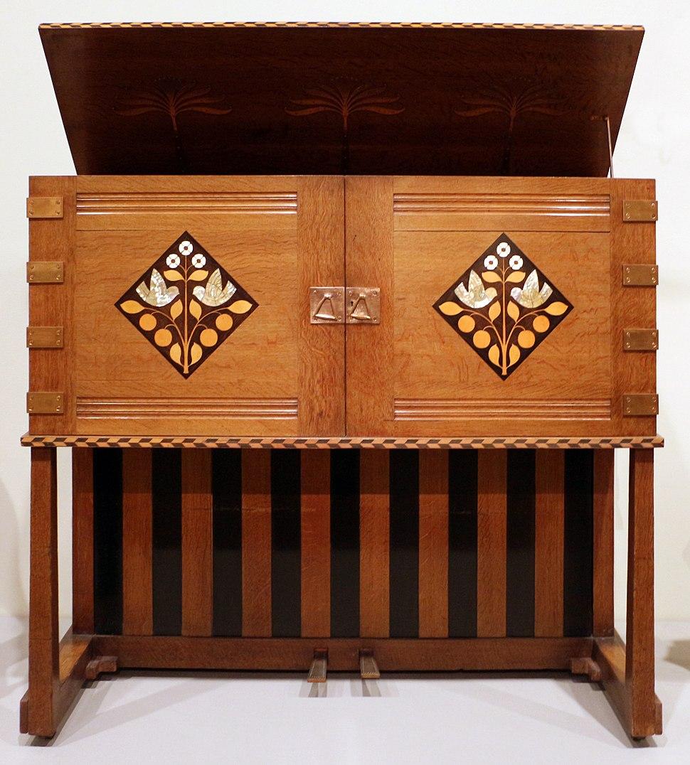 Mackay hugh baille scott per john broadwood and sons, pianoforte manxman, 1897, 01