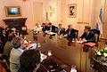 Macri y Frigerio con el equipo del Ministerio del Interior.jpg
