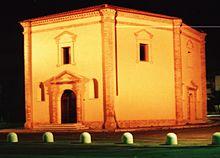 Santuario della Madonna Grande nella frazione di Nuova Cliternia