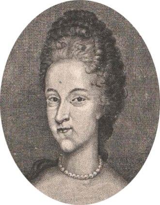Countess of Hanau - Image: Magdalena Claudia von Pfalz Birkenfeld