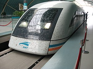 Transrapid - Transrapid SMT in Shanghai (Front)