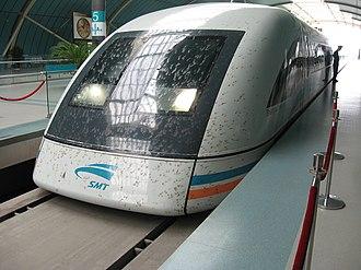 Transrapid - Transrapid SMT in Shanghai (Front)