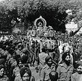 Mahatma Gandhi's funeral procession.jpg