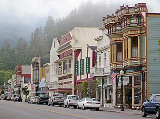 Ferndale, California - Main Street in Ferndale