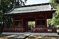 Main gate (Nio-mon) of Houzen-ji Temple (Inashiki city,Ibaraki prefecture).jpg