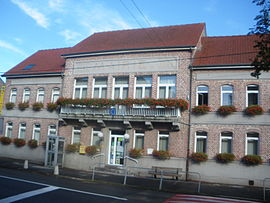 The town hall of Festubert