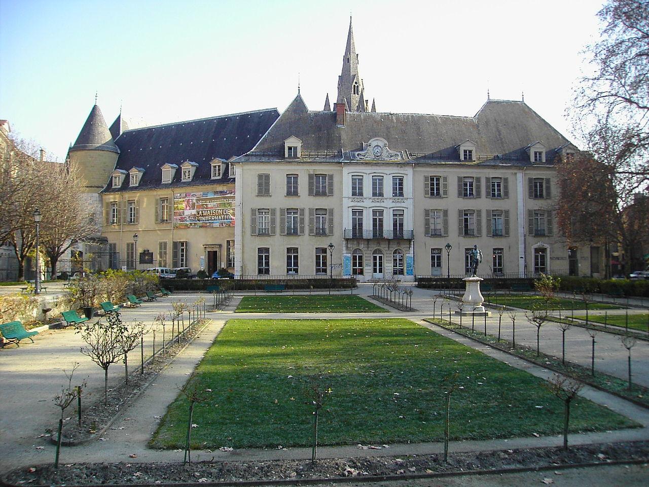 File maison de l 39 international grenoble jpg wikimedia commons - Grillage jardin maison grenoble ...