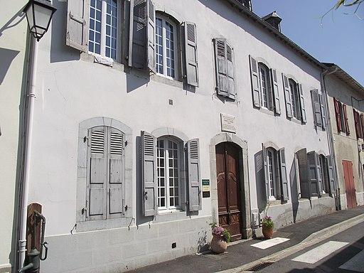Maison natale de Francis Jammes (Tournay, Hautes-Pyrénées, France)
