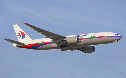 Un Boeing 777-200ER de Malaysia Airlines. - Boeing 777