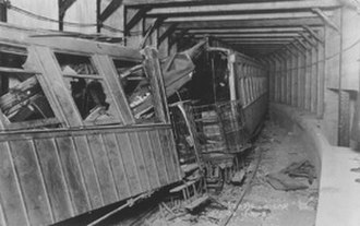 Malbone Street Wreck - Remains of the wreck