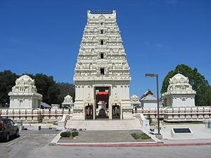 Malibu Hindu Temple - Image: Malibu Hindu Temple 25