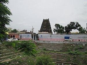 Pavalavannam temple - Pavalavannan temple tank