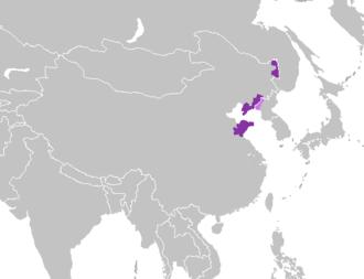 Jiaoliao Mandarin - Image: Mandarín jiaoliao