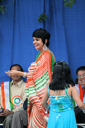Mandira Bedi at India Day Parade