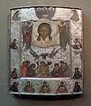 Mandylion icon with Pieta and Trinity (16th c., GTG) 01 by shakko.jpg