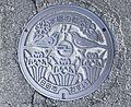 Manhole cover of Hita, Oita.jpg