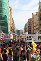 Manifestació Sí al Valencià- Eixida des de Plaça Sant Agustí. (5846816366).jpg
