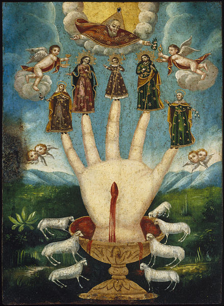 File:Mano Poderosa (The All-Powerful Hand), or Las Cinco Personas (The Five Persons) - Google Art Project.jpg