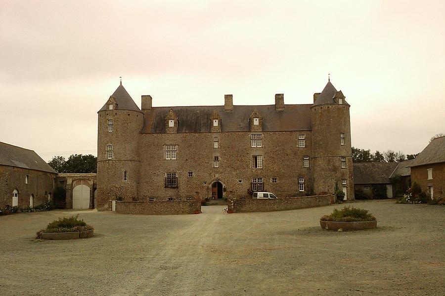 Manoir de Bricqueboscq à Vesly (France)