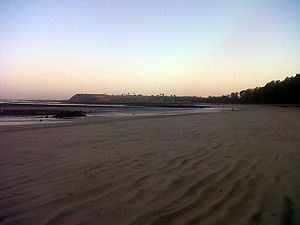 Manori - Another view of Manori beach during early morning.