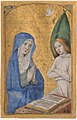Manuscript Leaf with the Annunciation from a Book of Hours MET tr626-2004s1.jpg