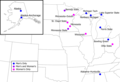 Map - College Hockey - WCHA cities.png