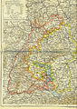 Map Baden Hohenzollern Wuerttemberg 1892 Part Black Forest.jpg