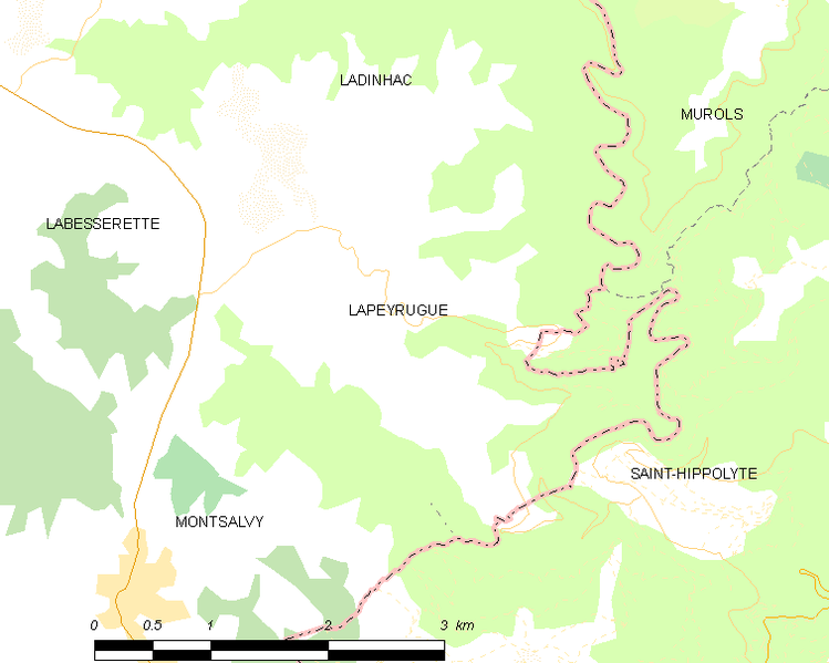 Bestand:Map commune FR insee code 15093.png