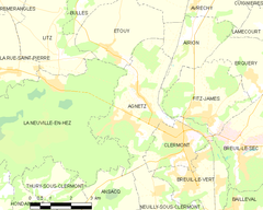 Map commune FR insee code 60007.png