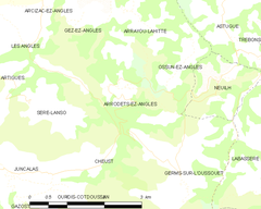 Map commune FR insee code 65033.png