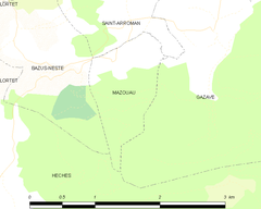 Map commune FR insee code 65309.png