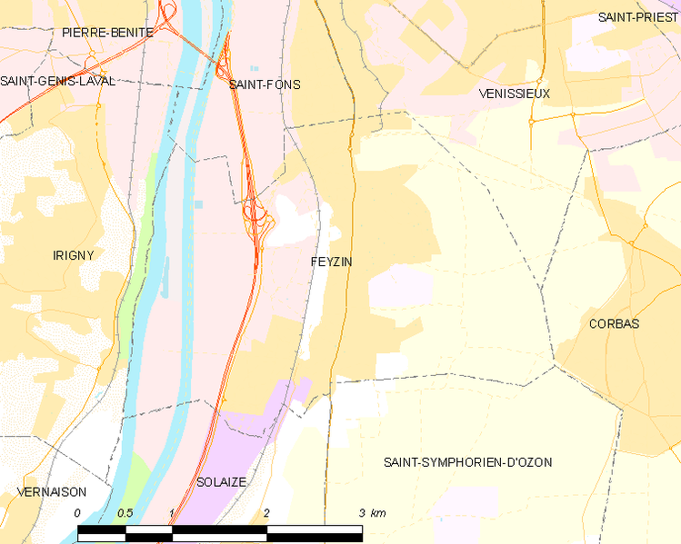Archivo:Map commune FR insee code 69276.png