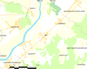 Map commune FR insee code 71033.png