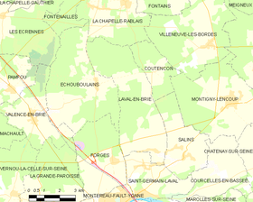 Map commune FR insee code 77245.png