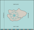 Map of CT dive site Fan Reef.png