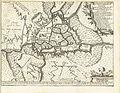Map of Ghent by Gillius Brakel , Matthijs Pool, Johannes van Oosterwyk.jpg