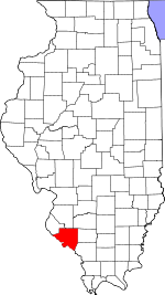 Map of Illinois highlighting Randolph County.svg