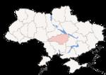 Oblast di Kirovohrad - Mappa di localizzazione
