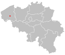 Map of roeselare in belgium.PNG