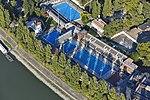 Margit-sziget, sportuszoda, légi fotó.jpg