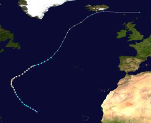 Hurricane Maria (2005) - Image: Maria 2005 track