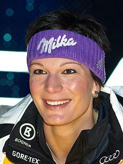 Maria Höfl-Riesch German alpine skier