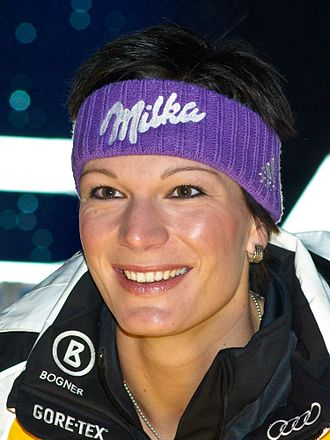 Maria Höfl-Riesch - Riesch in January 2009