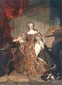 Marie Leczinska, Reine de France 1740 Louis TOCQUÉ.PNG
