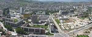 Marijin dvor, Sarajevo panorama 2010